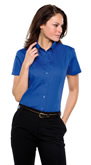 KK701 Kustom Kit Womens Oxford Shirt Short Sleeve