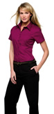 KK719 Kustom Kit Womens Pocket Oxford Shirt Short Sleeve