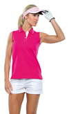 KK730 Kustom Kit Sports Sleeveless Polo